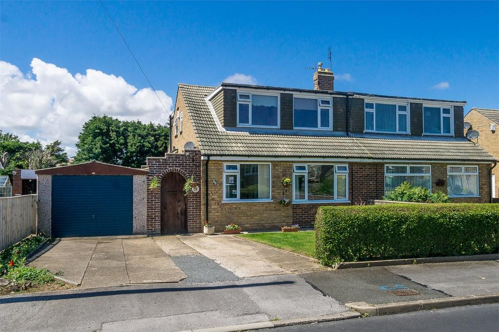 3 Bedrooms Semi Detached Bungalow for sale in Louville Avenue, WITHERNSEA, East Riding of Yorkshire