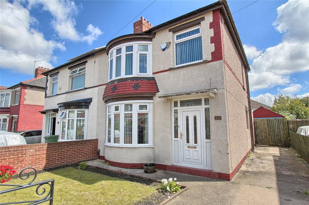 3 Bedrooms Semi Detached House for sale in Park Avenue, Thornaby