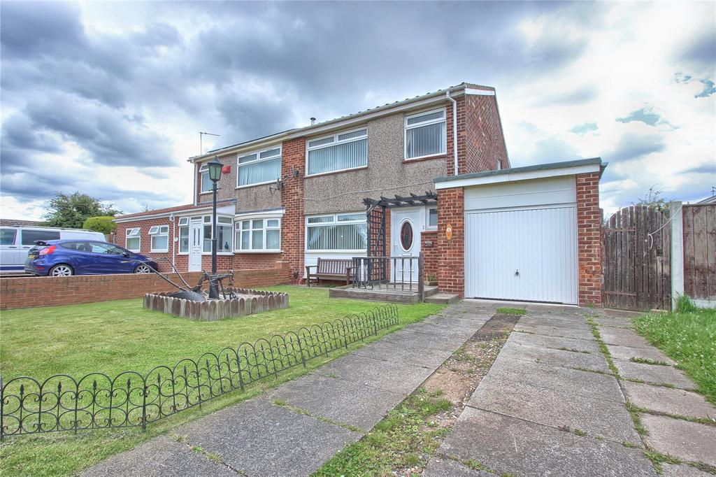 3 Bedrooms Semi Detached House for sale in Howard Drive, Marske-by-the-Sea