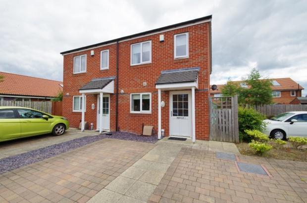 2 Bedrooms Semi Detached House for sale in Kirkhill, Beckwith Green, SR3