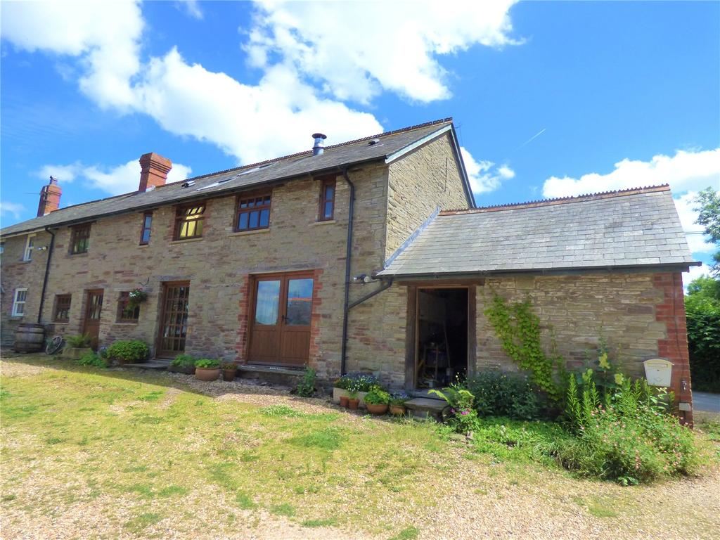 3 Bedrooms Barn Conversion Character Property for sale in Velindre, Brecon, Powys
