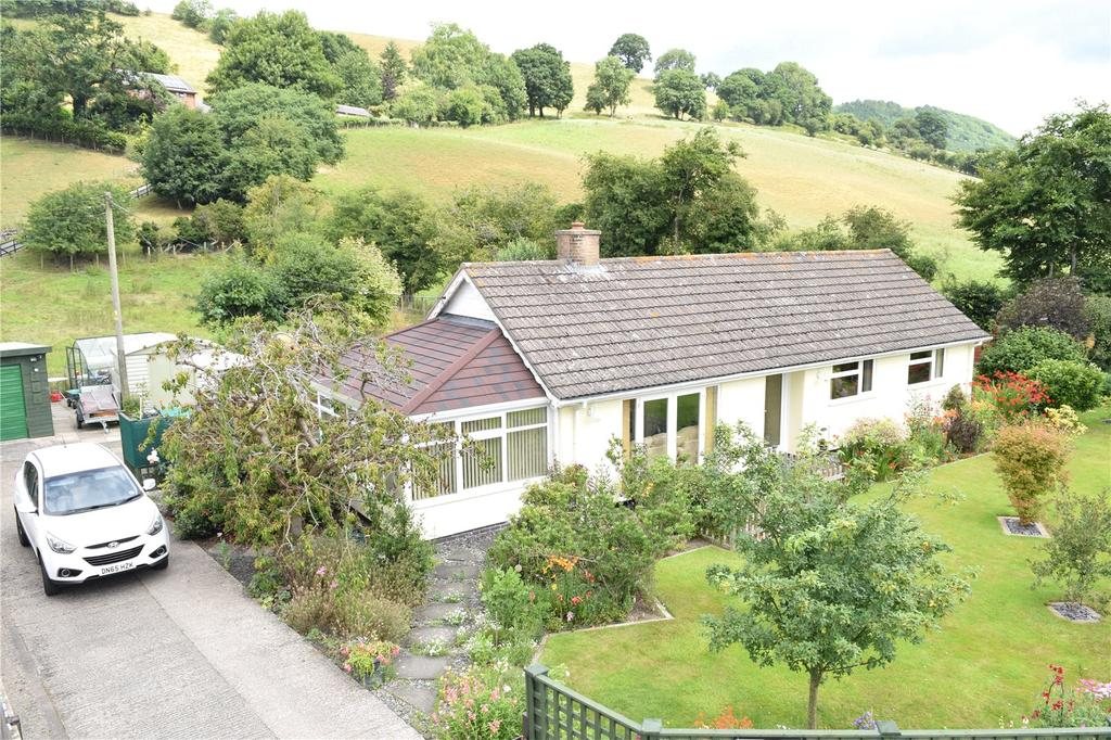 3 Bedrooms Detached Bungalow for sale in Manafon, Welshpool, Powys