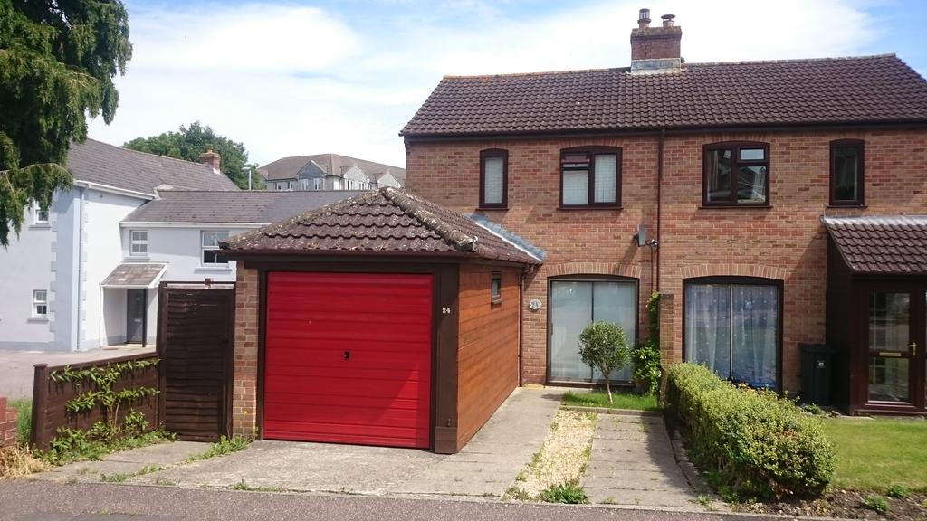 2 Bedrooms Semi Detached House for sale in West Close, Axminster