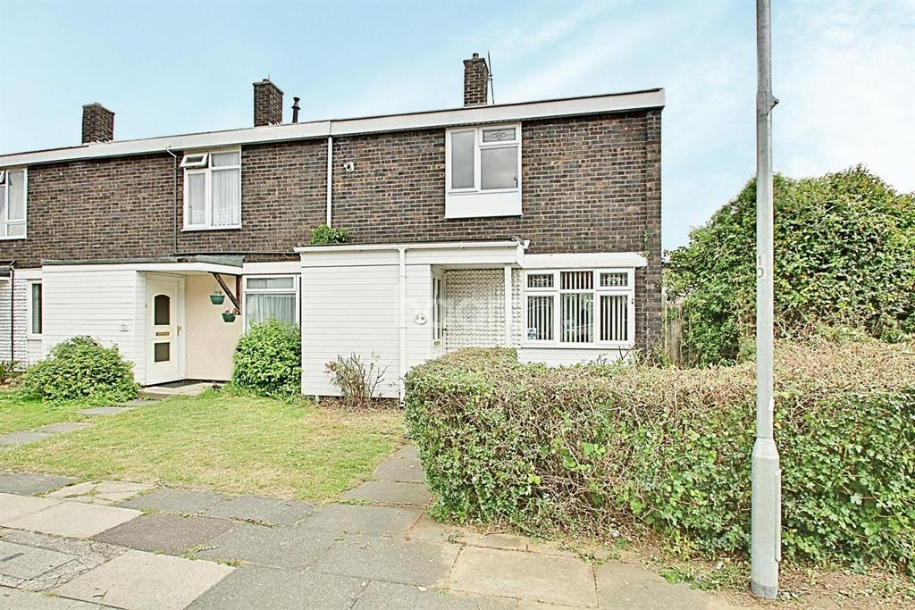 2 Bedrooms End Of Terrace House for sale in Boytons, Basildon