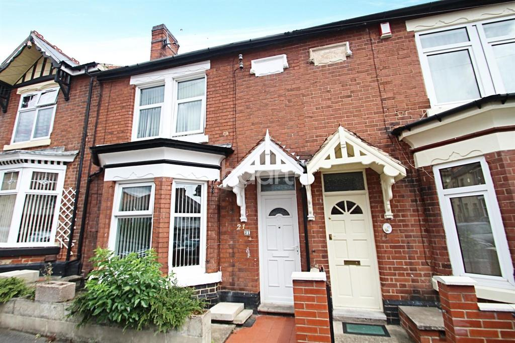 3 Bedrooms Terraced House for sale in Cromwell Road, Derby