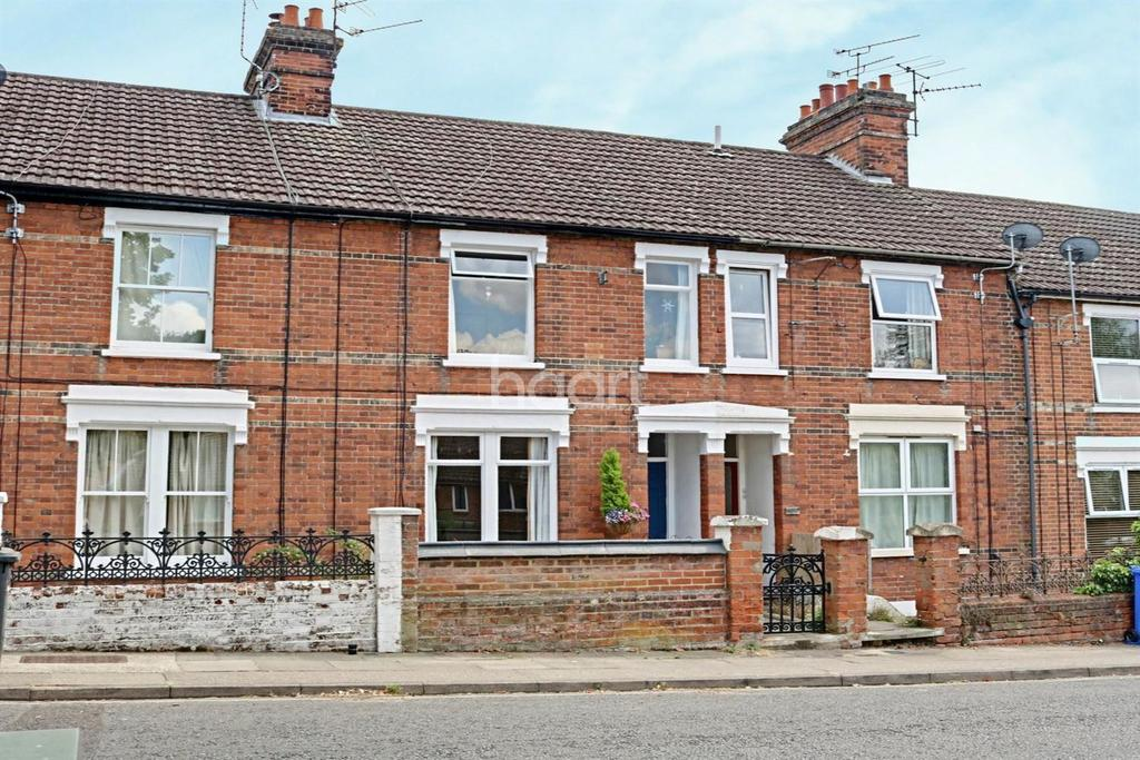 3 Bedrooms Terraced House for sale in Cemetery Road, Ipswich
