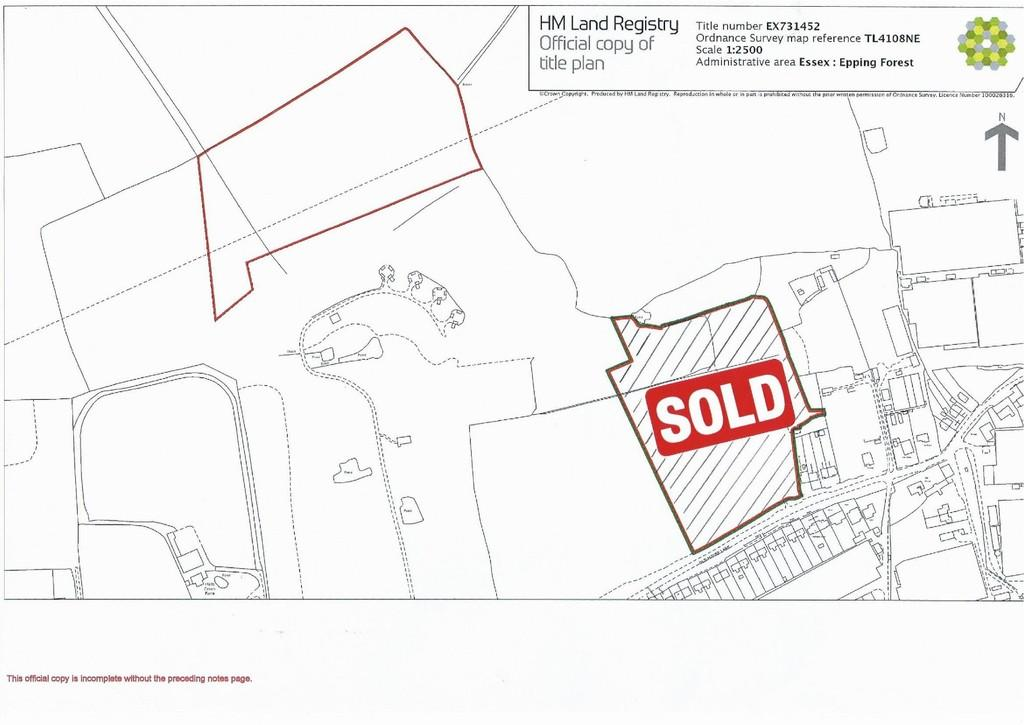 Land Commercial for sale in Epping Road, Roydon