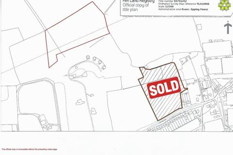 Land for sale - Epping Road, Roydon
