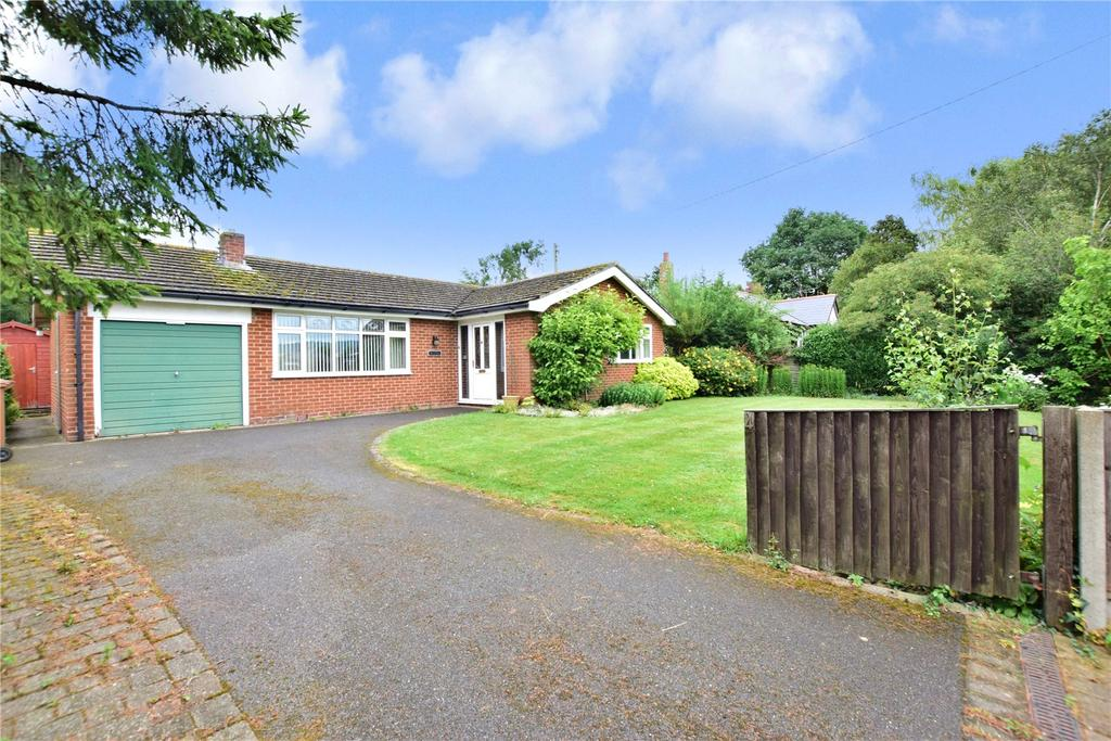 3 Bedrooms Detached Bungalow for sale in Bolton Lane, Hose, Melton Mowbray