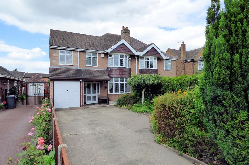 4 Bedrooms Semi Detached House for sale in Burton Road, Branston