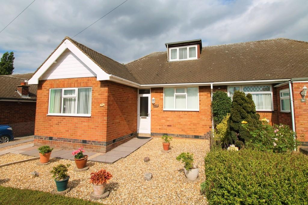 3 Bedrooms Semi Detached Bungalow for sale in Fairfax Road, Market Harborough