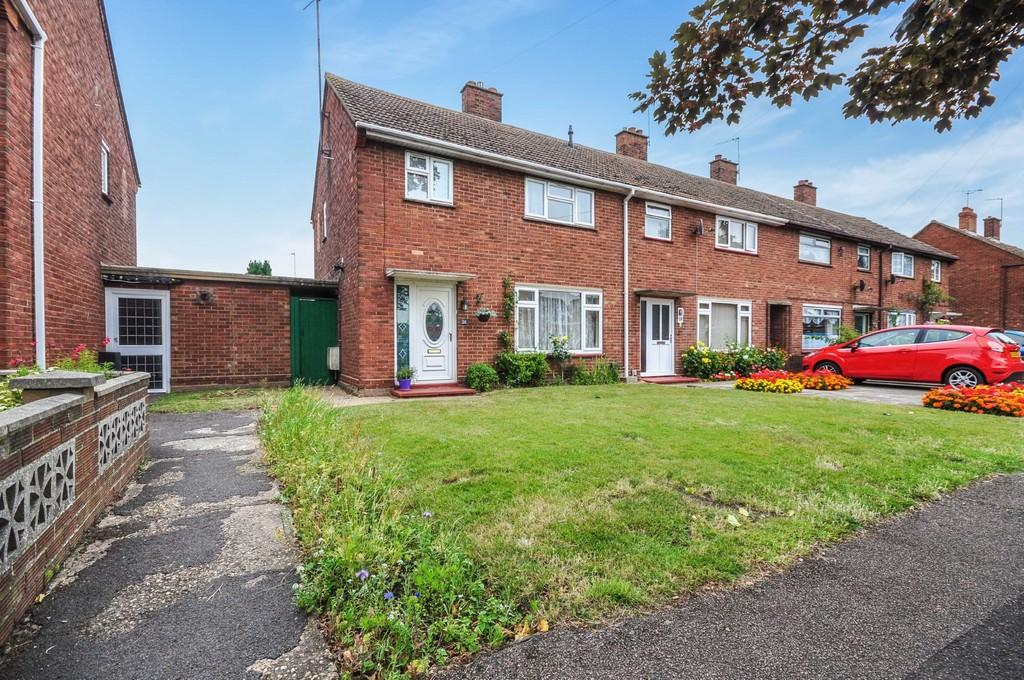 3 Bedrooms End Of Terrace House for sale in Queen Elizabeth Way, Colchester, CO2 8QL