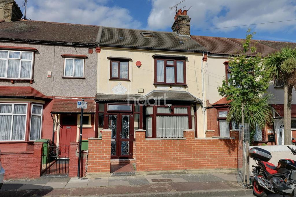 3 Bedrooms Terraced House for sale in Burges Road, East Ham