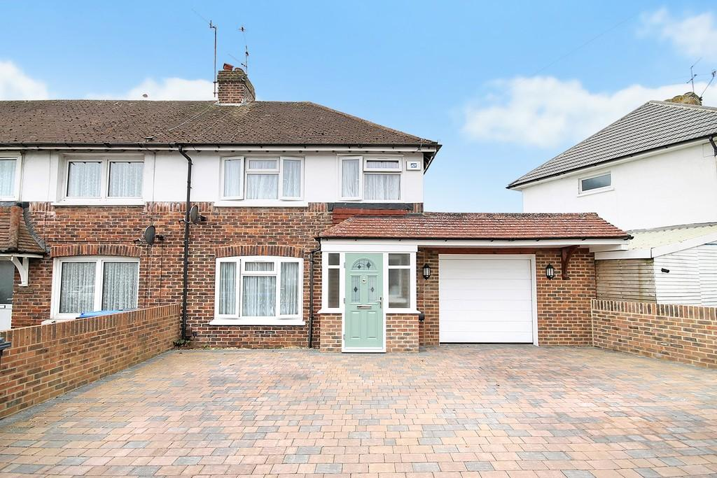 3 Bedrooms End Of Terrace House for sale in Northbrook Road, Worthing BN14 8PS