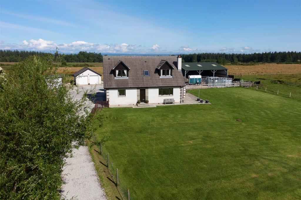 5 Bedrooms Detached House for sale in Broomfield Cottage, Feabuie, Culloden Moor, Inverness, IV2