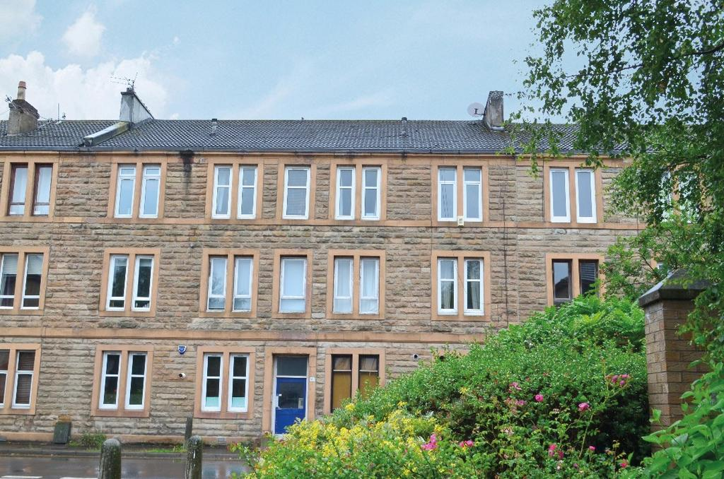 2 Bedrooms Flat for sale in Crow Road, Flat 2/1, Anniesland, Glasgow, G13 1JR