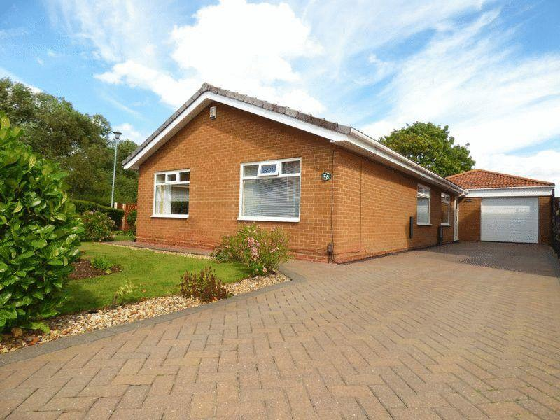 3 Bedrooms Detached Bungalow for sale in Dunelm Road, Elm Tree, Stockton, TS19 0TS