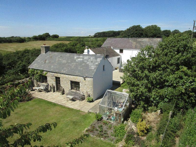 4 Bedrooms Detached House for sale in Ty Capel, St Donats, Nr. Llantwit Major, Vale of Glamorgan, CF61 1ZB