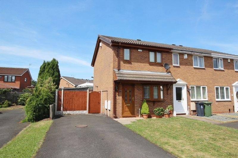 2 Bedrooms Terraced House for sale in Leven Drive, Coppice Farm Willenhall
