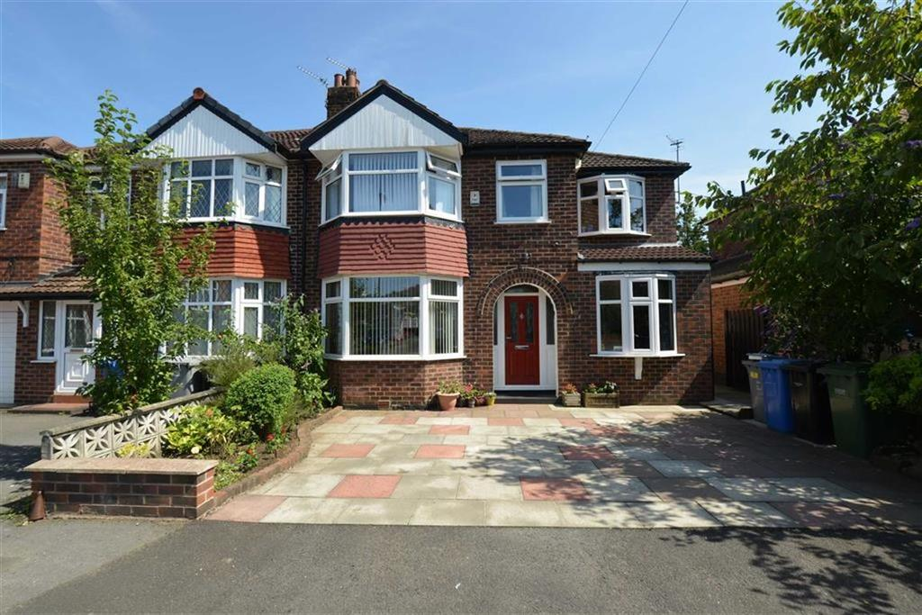 5 Bedrooms Semi Detached House for sale in Lowood Avenue, URMSTON, Manchester