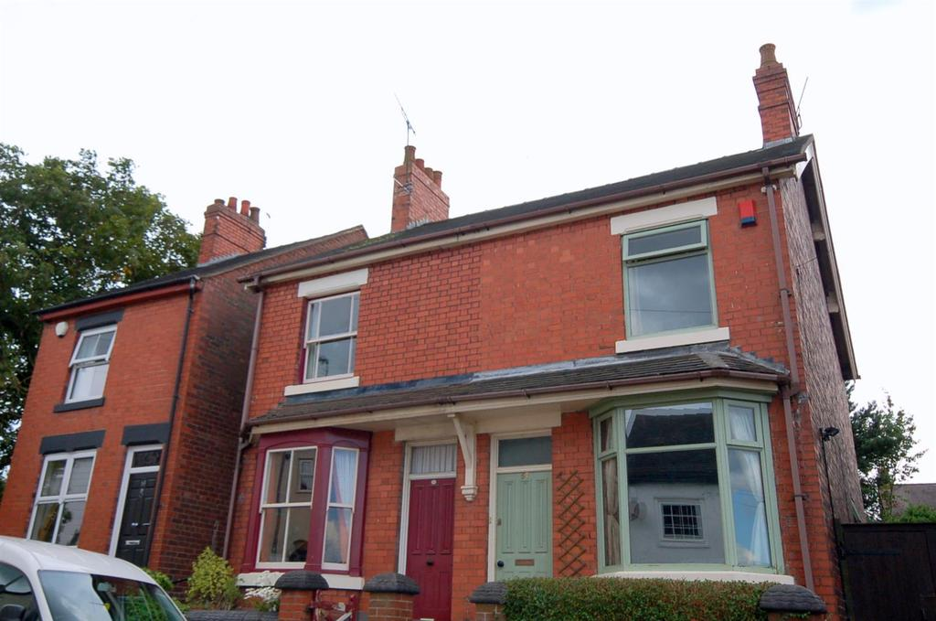 2 Bedrooms Semi Detached House for sale in Chapel Street, Bignall End
