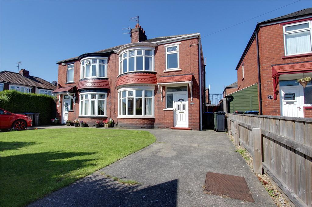 3 Bedrooms Semi Detached House for sale in Lansdowne Road, Middlesbrough