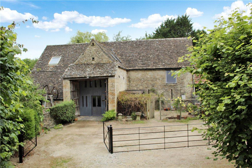 4 Bedrooms Barn Conversion Character Property for sale in Cornmill, Compton Abdale, Gloucestershire, GL54