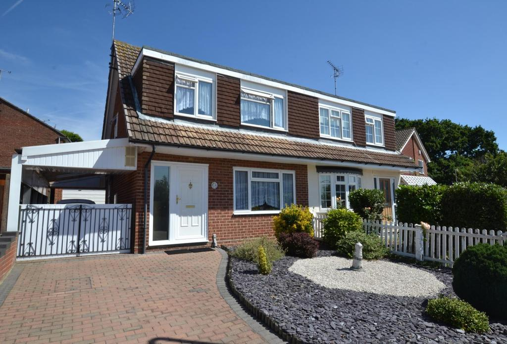 3 Bedrooms Semi Detached House for sale in Stonechat Road, Billericay, Essex, CM11