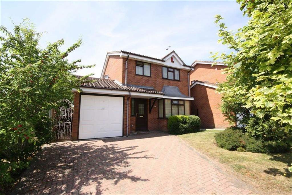 3 Bedrooms Detached House for sale in Chaucer Drive, Galley Common, Nuneaton