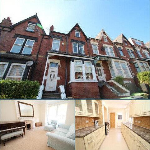 4 bedroom terraced house to rent - ROUNDHAY VIEW, LEEDS, LS8 4DX
