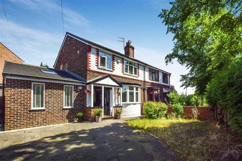 3 Bedrooms Semi Detached House for sale in Lodge Avenue, Urmston, Manchester