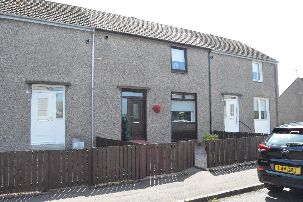 2 Bedrooms Terraced House for sale in Castle Avenue, Carronshore, Falkirk, FK2 8HX
