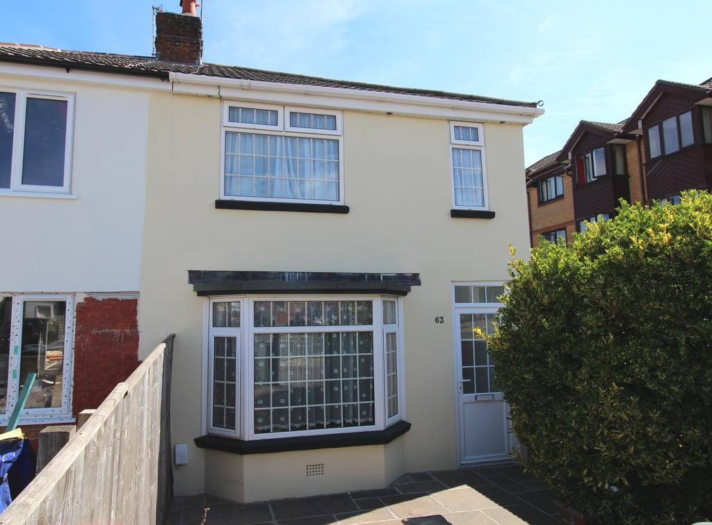 2 Bedrooms Semi Detached House for sale in Cleveland Road, Bournemouth BH1