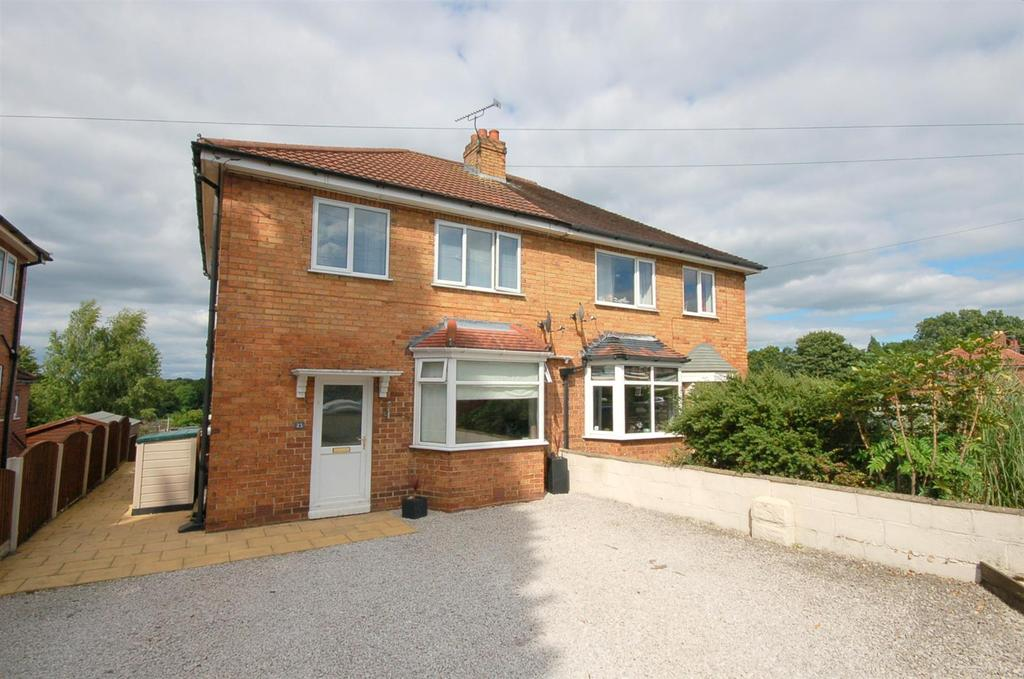 3 Bedrooms Semi Detached House for sale in Cresswellshaw Road, Alsager