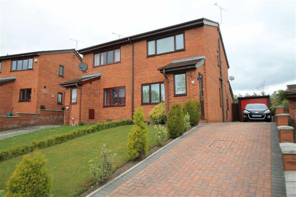2 Bedrooms Semi Detached House for sale in Saxon Road, Gwersyllt, Wrexham