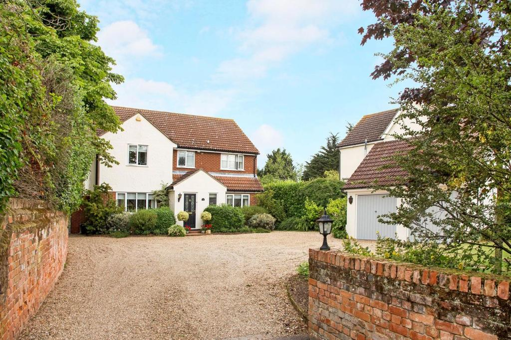 4 Bedrooms Detached House for sale in Church Road, Wickham Bishops, Witham Bishops , Essex, CM8