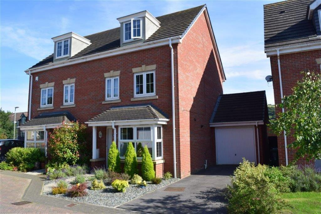 4 Bedrooms Semi Detached House for sale in Ashtree Gardens, Millhouse Green, Sheffield, S36