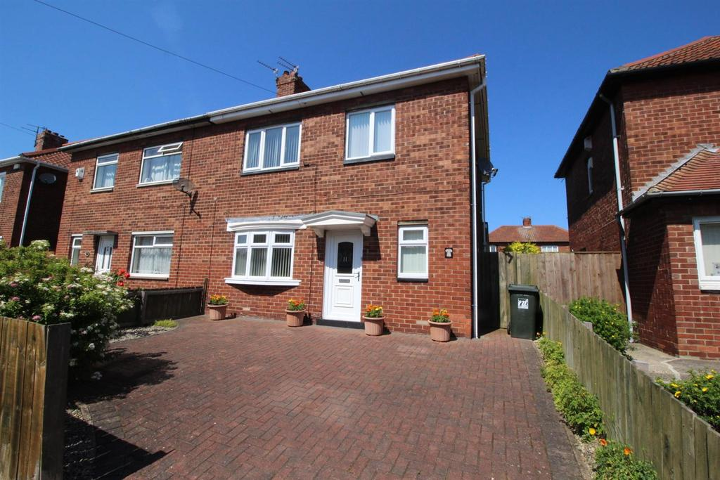 3 Bedrooms Semi Detached House for sale in Farne Road, Newcastle Upon Tyne