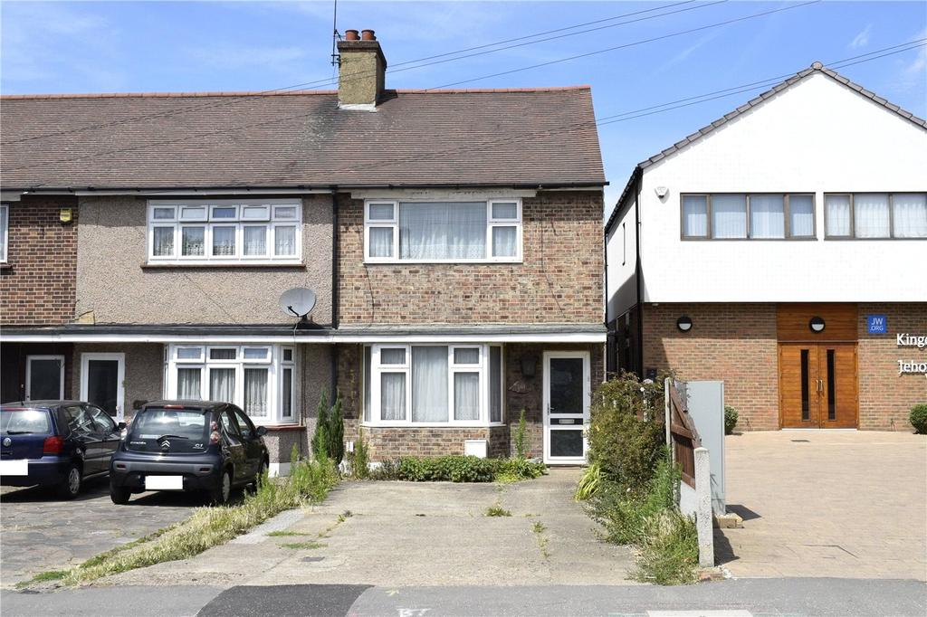 3 Bedrooms End Of Terrace House for sale in Brentwood Road, Romford, RM1