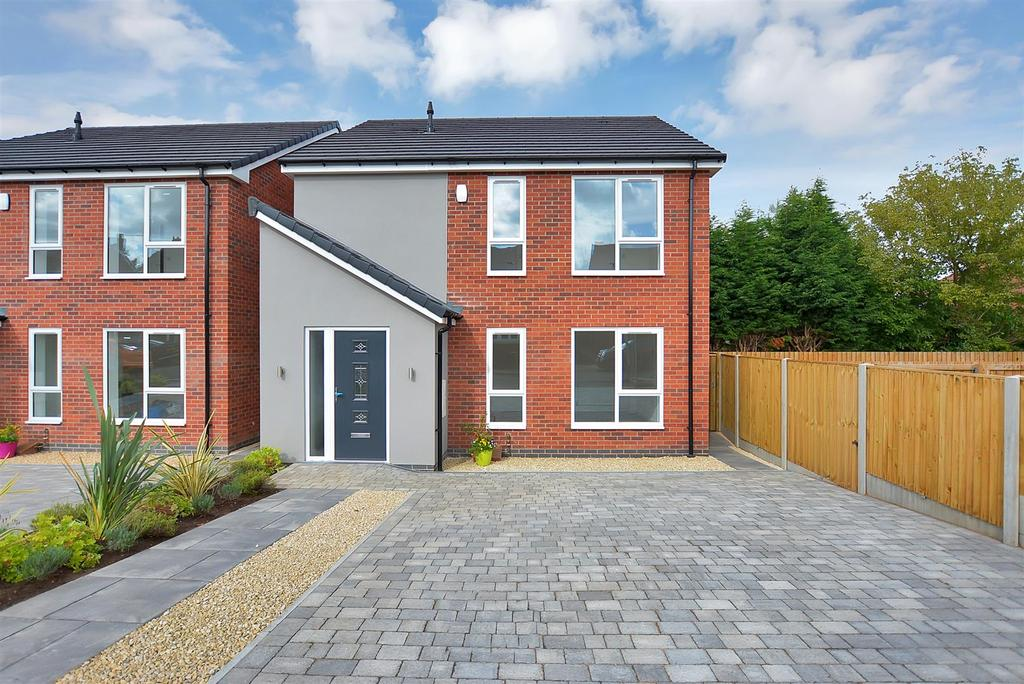 3 Bedrooms Detached House for sale in Plot 2, Chester Street, Mansfield