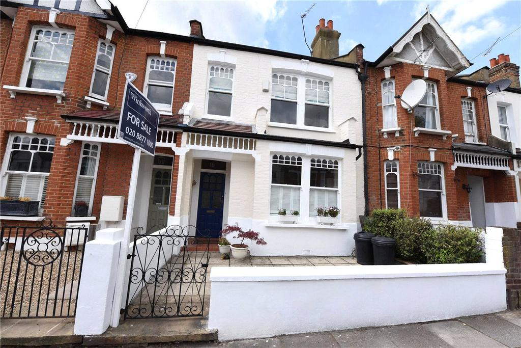 3 Bedrooms Terraced House for sale in Heythorp Street, London, SW18