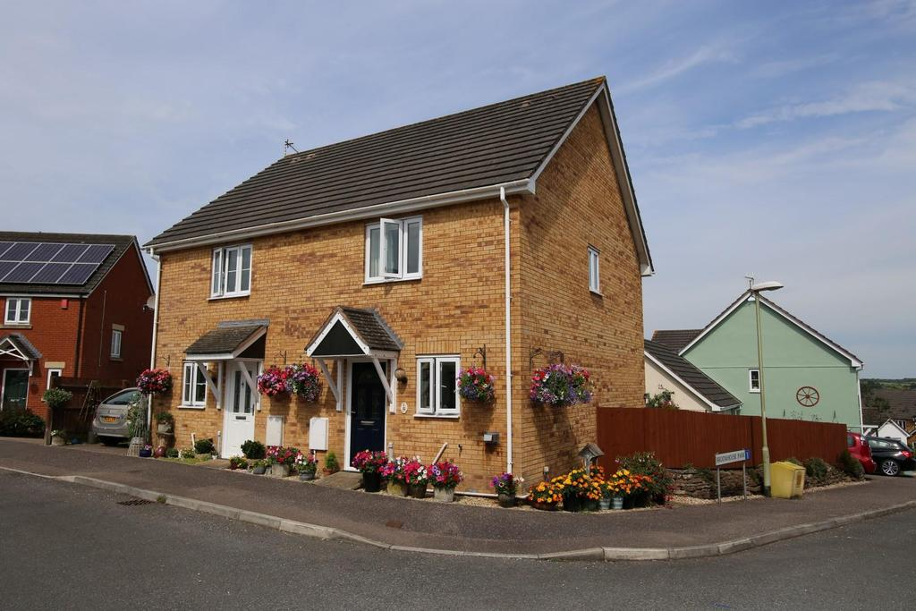 2 Bedrooms Semi Detached House for sale in Broomhouse Park, Witheridge, Tiverton