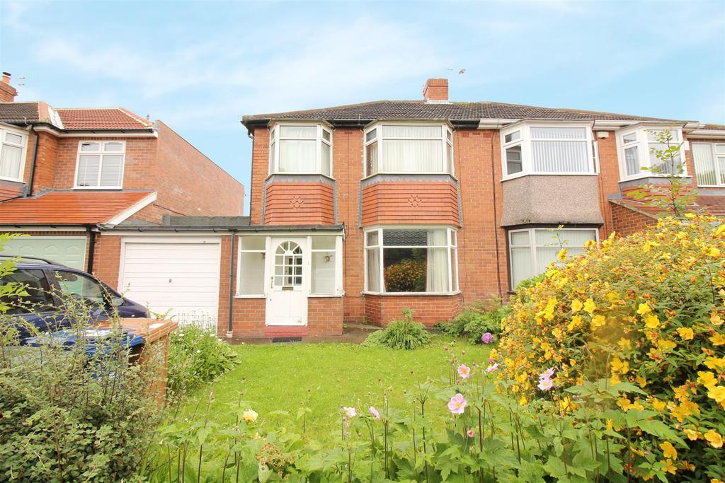 3 Bedrooms Semi Detached House for sale in Melville Grove, High Heaton, Newcastle Upon Tyne