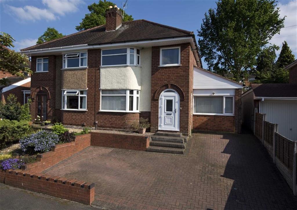 3 Bedrooms Semi Detached House for sale in Lytton Avenue, Penn, Wolverhampton, West Midlands, WV4
