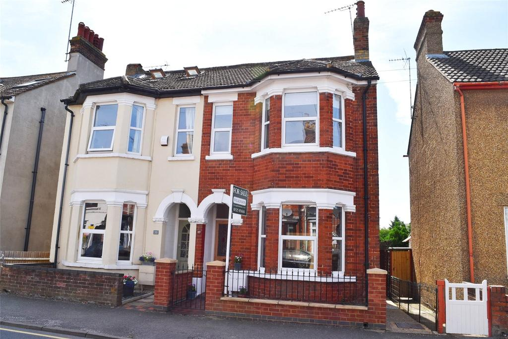4 Bedrooms Semi Detached House for sale in Springfield Road, Linslade