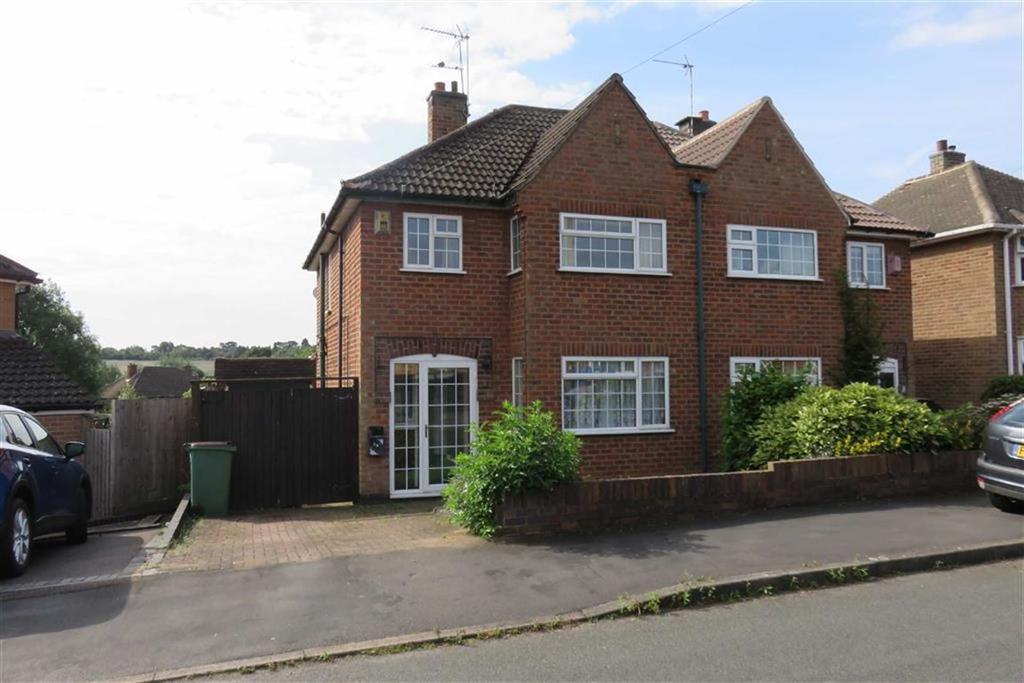 3 Bedrooms Semi Detached House for sale in Armson Avenue, Kirby Muxloe