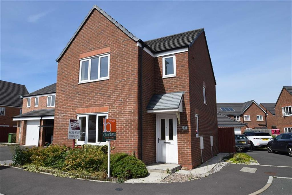 3 Bedrooms Detached House for sale in Yew Tree Close, Spring Gardens, Shrewsbury