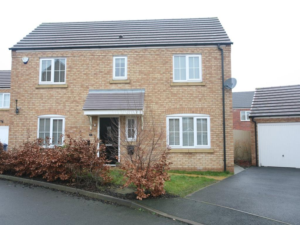 3 Bedrooms Detached House for sale in 6 Packington Mews, Cannock, WS11 0GH