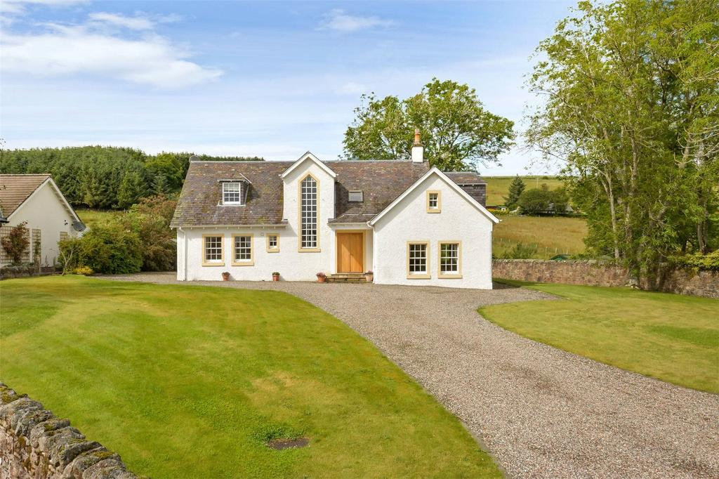 4 Bedrooms Detached House for sale in Greenmantle, Fowlis Wester, Crieff, Pertshire, PH7
