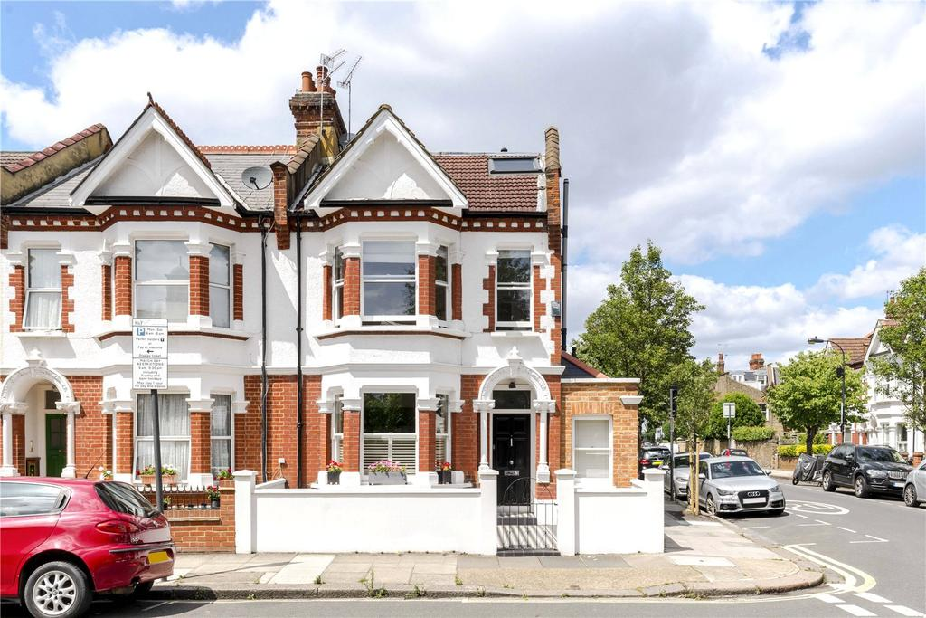 5 Bedrooms End Of Terrace House for sale in Greswell Street, Alphabet Streets, Bishops Park, Fulham, SW6